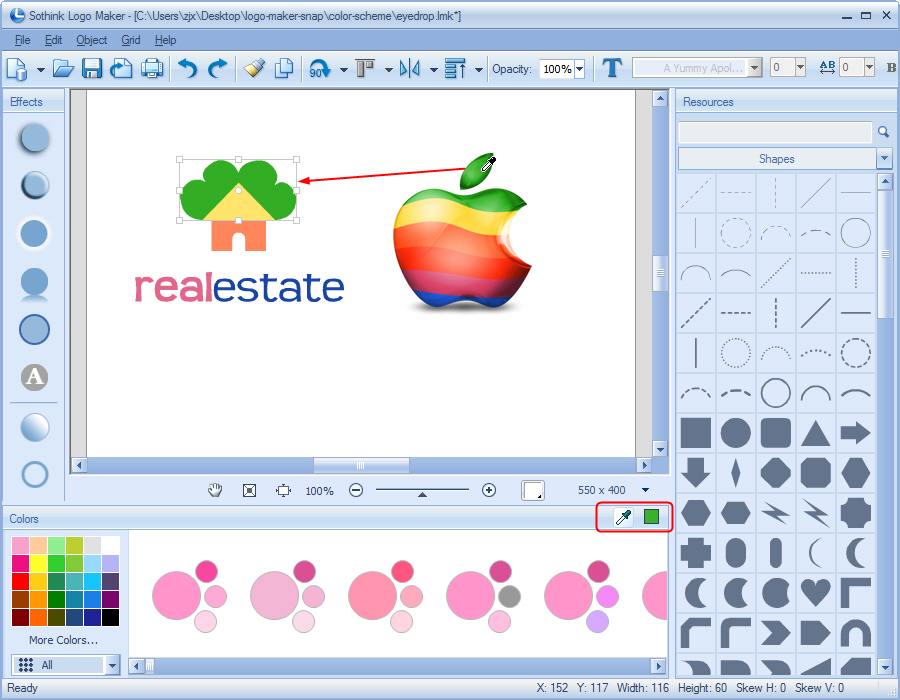 Logo design software create company logos with logo maker for Blueprint creator online free