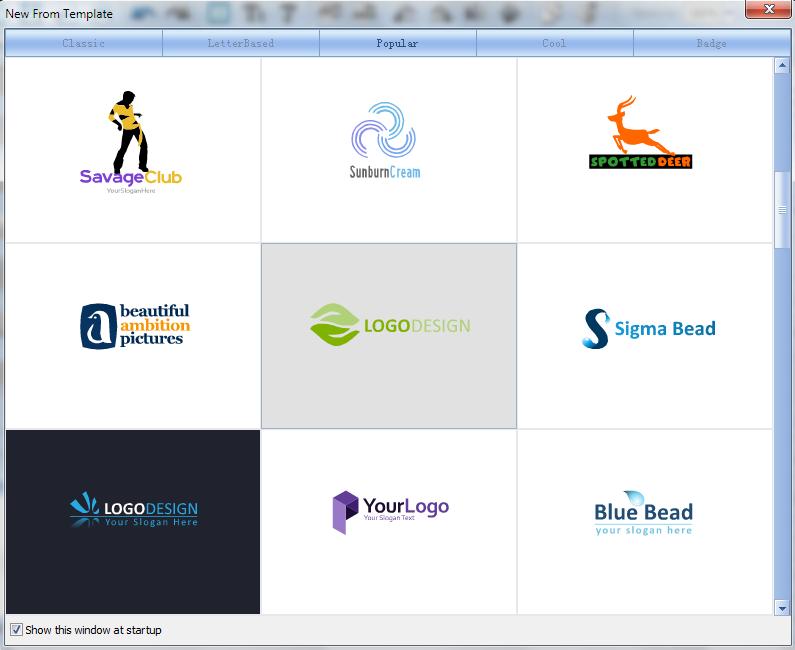 Text Logo Design Ideas inexpensive logo template