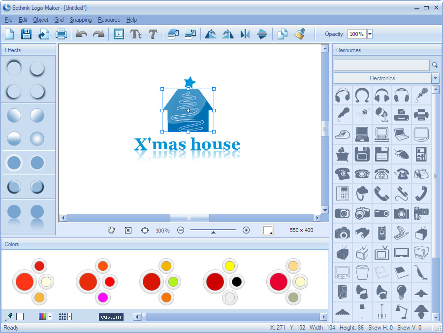 Click to view Logo Maker 2.11 screenshot