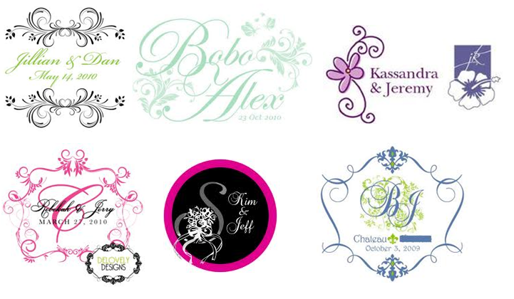 How to create a fantastic wedding logo design for Draw your own logo free