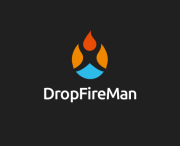 drop fire man
