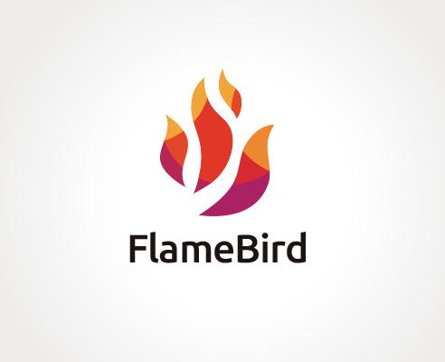 Flame-bird